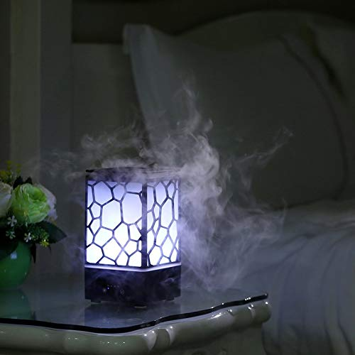 Air Humidifier Mini Usb Ultrasonic Water Cube Shape Humidifier Air Humidifier Aroma Essential Oil Diffuser Aromatherapy For Office Spa