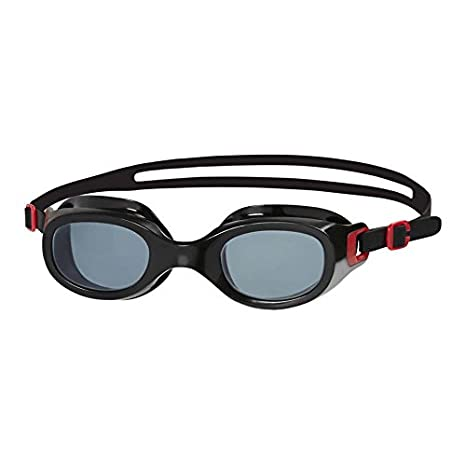 548f3674685 Buy Speedo Futura Classic Adult Swimming Goggles (Red Smoke) Online at Low  Prices in India - Amazon.in
