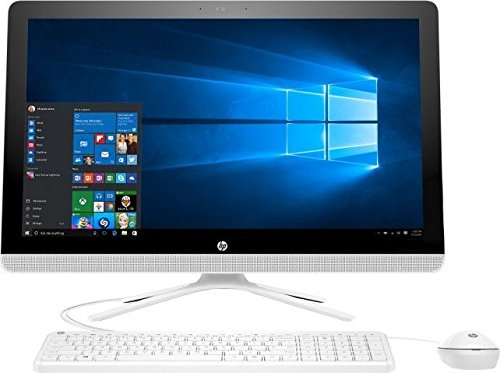 2017 HP 23.8 Inch All-In-One Business Touchscreen Desktop PC, Intel Dual-Core i3-6100U 2.3GHz, 8GB DDR4 Memory, 1TB 7200 RPM HDD, HDMI, DVD, Webcam, Windows 10 (Certified Refurbished)