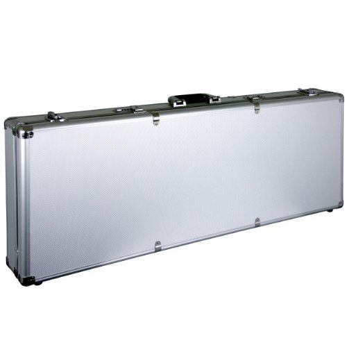 "40"" Deluxe Aluminum Locking Gun Case Rifle Lock Shotgun Storage Box Airsoft  by Planet International"
