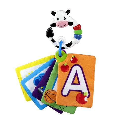 Baby Einstein - Cartas para descubrir las formas y las letras, modelo vaca