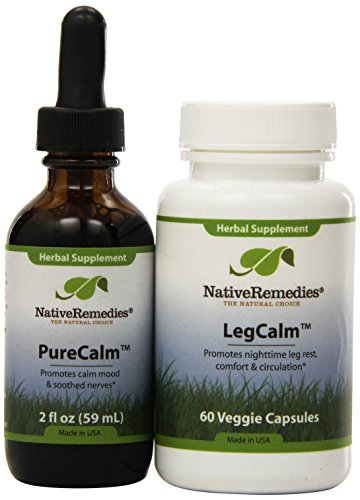 Native Remedies Pure Calm and Leg Calm ComboPack