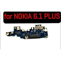 SPAREWARE USB Charging Port Dock Connector Charging Flex Cable Compatible with Nokia 6.1 Plus