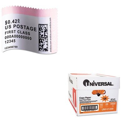 KITDYM30915UNV21200 - Value Kit - Dymo LabelWriter Postage Stamp Labels (DYM30915) and Universal Copy Paper (UNV21200)