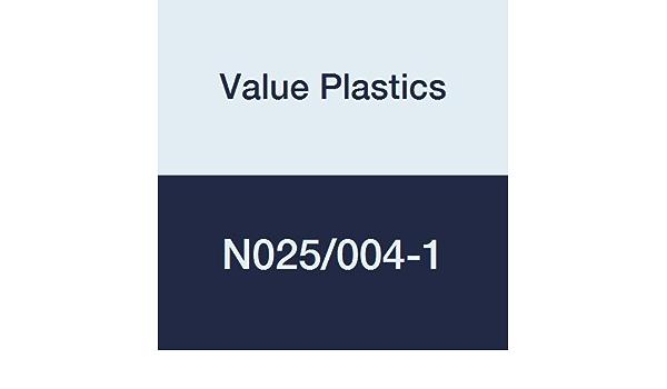 Value Plastics N004-J1A Straight Through Tube Fitting with 500 Series Barbs Natural Kynar PVDF 1//16 ID Tubing 1.6 mm 25-Pack