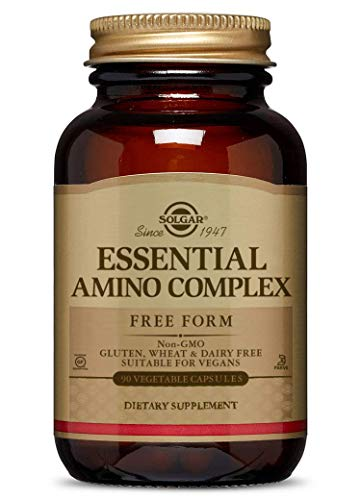 Solgar - Essential Amino Complex, 90 Vegetable Capsules