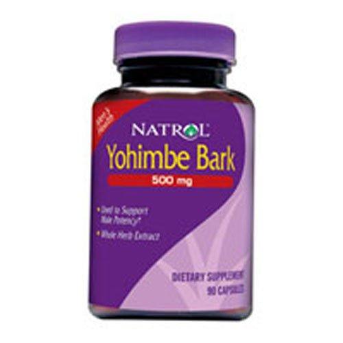 Yohimbe Bark - 500 mg, 90 Capsules ()