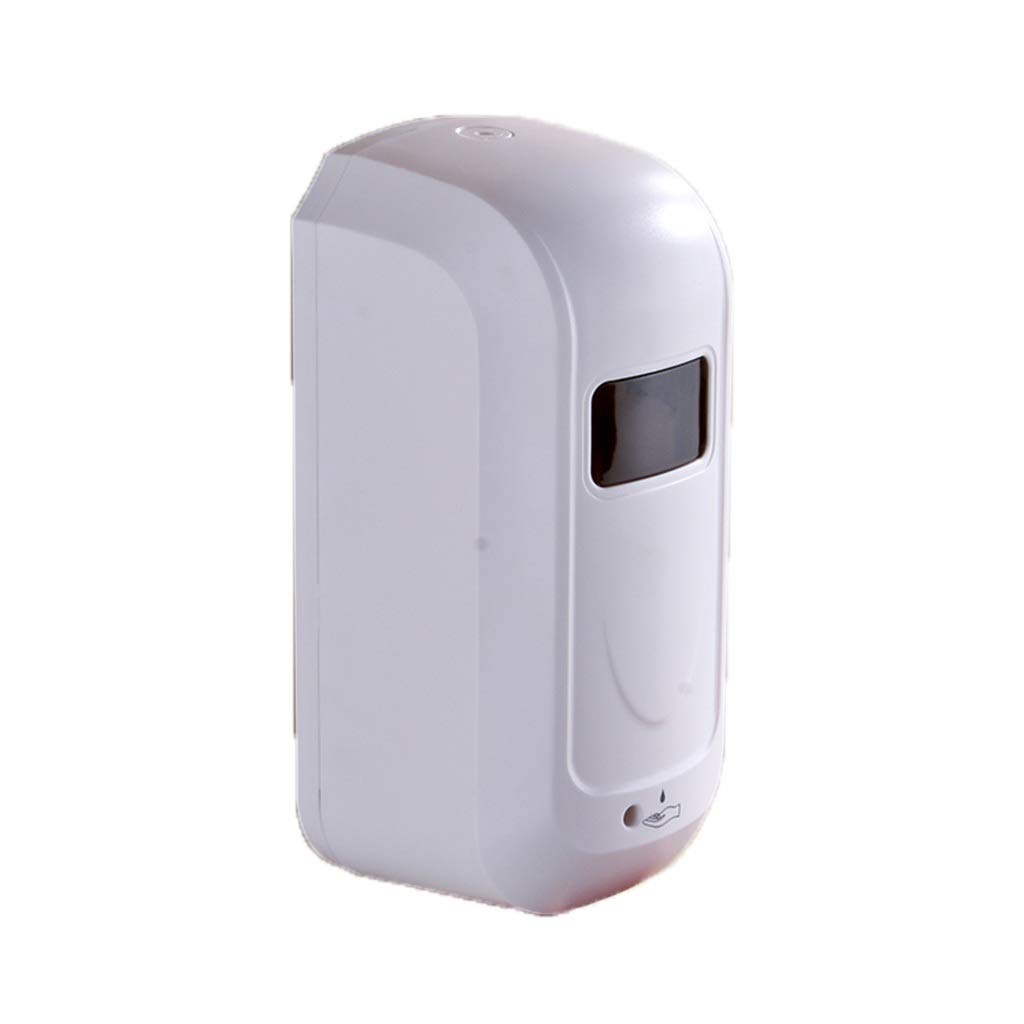 Ppy778 Soap Dispenser Infrared Sensor soap Dispenser Wall-Mounted soap Dispenser Large Capacity 1100ml Kitchen Bathroom Hand sanitizer (Color : White, Size : 2612.510.5CM) by Ppy778