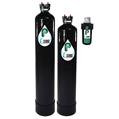 Pelican Water 5-Stage Water Filtration & Softening System For Up to 5 Bathrooms, Black