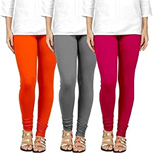 Swastik Stuffs Women's Cotton Lycra Leggings Combo Offer for Women | Leggings for Women | Leggings Combo Pack| Leggings…