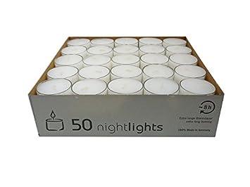 Wenzel kerzen  uk nightlights set candele con