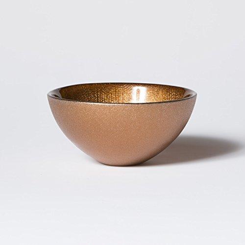 Bowl Decorative Vietri - Vietri Glitter Glass Copper Small Bowl