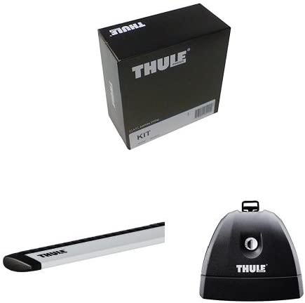 Thule 183031 Kit 3031 For Vehicles With Fixing Points And Integrated Rails Thule 751 Fixed Foot Set 4pcs Rapid Fixpoint Xt Roof Traverse Thule 963100 Wing Bar 963 Rapid System Auto