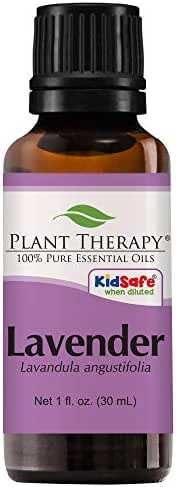 Plant Therapy Lavender Essential Oil | 100% Pure, Undiluted, Natural Aromatherapy, Therapeutic Grade | 30 Milliliter (1 Ounce)