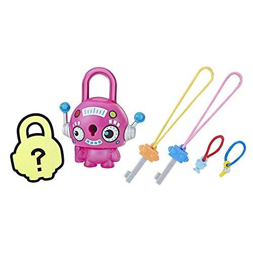 (Lock Stars Basic Assortment Pink Robot–Series 1 (Product may vary))