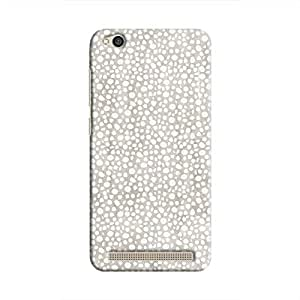 Cover It Up - Silver Pebbles Mosaic Redmi 5A Hard Case