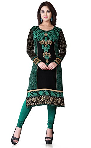 Long-tunics-Kurti-Top-with-Long-Sleevess-Multiple-Styles-colors-Collection