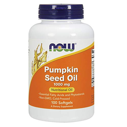 Pumpkin Seed Oil (NOW Pumpkin Seed Oil 1000 mg,100 Softgels)