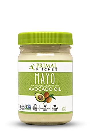 Primal Kitchen - Avocado Oil Mayo, Gluten and Dairy Free, Whole30 and Paleo Approved (12 oz) - Ingredients In Mayonnaise