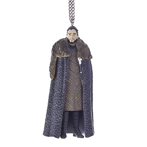 Kurt Adler YAMGO2174 5 Game of Thrones Jon Snow Ornament