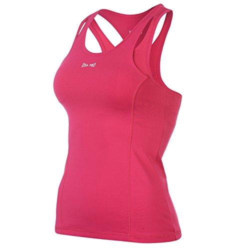 USA Pro - Camiseta sin mangas - para mujer Rosa