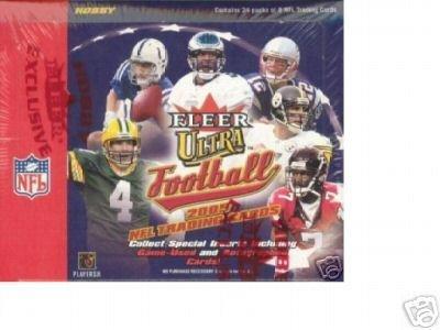 2005 Fleer UltraフットボールHobbyボックス – NFLフットボールカード   B003Y8L6XU
