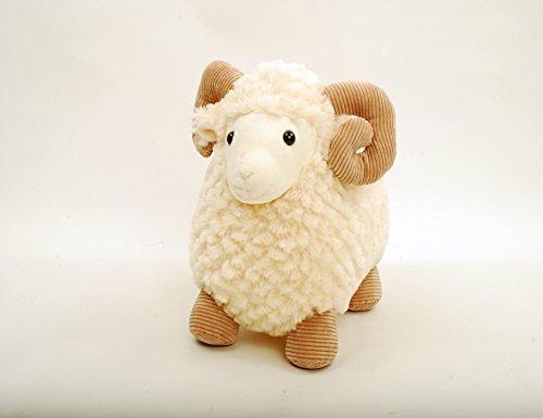 Linzy Toys 13 Ash Standing Lamb Animal Plush Nixeus Technologies Inc us beauty L-71329