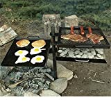 Mountain Man Grill/griddle Can Be Used Over a Wood Fire, Charcoal, or Propane