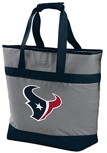 (NFL Houston Texans Unisex LP0757NFL 30 Can Tote Cooler, Red,)