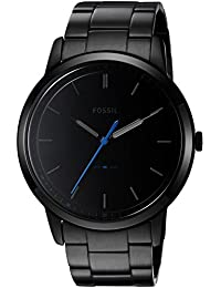 Men's FS5308 The Minimalist Three-Hand Black Stainless Steel Watch