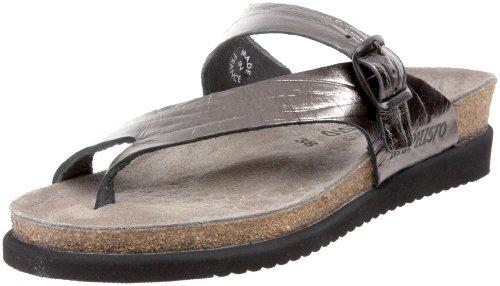 Mephisto Women's Helen Thong Sandal,Grey,6 M US by Mephisto
