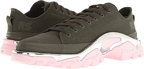 adidas Women's RAF Simons Detroit Runner Sneakers, Night Cargo/Night Cargo/Diva, 5.5 M UK