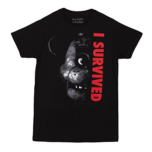 Five Nights At Freddy's I Survived Adult T-Shirt