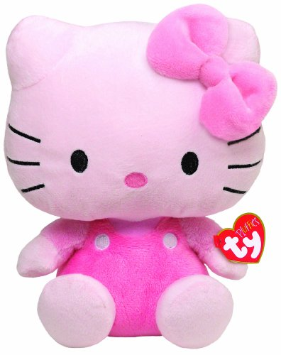 Ty Pluffies Hello Kitty - All Pink