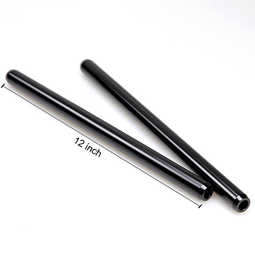 Smallrig® Black Finish 19mm Rods 12 Inches Long Without Inner