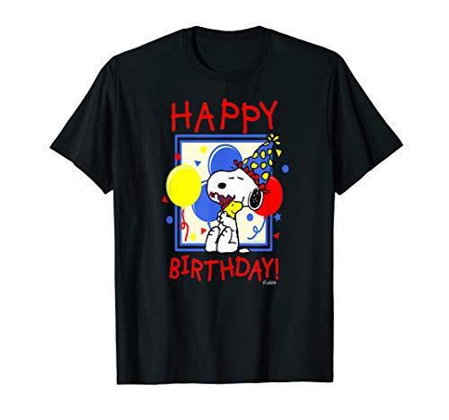 Peanuts Snoopy and Woodstock Happy Birthday -