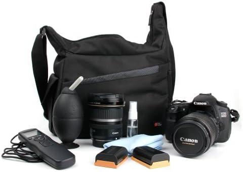 DURAGADGET Mochila Bandolera De Nylon para Cámara Réflex Nikon ...