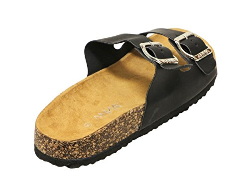 Pictures of ANNA Womens Light Weight Cork Platform Double 2