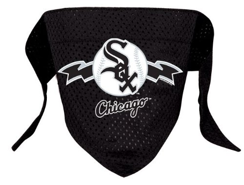 Chicago White Sox Pet Dog Baseball Jersey Bandana S/M ()