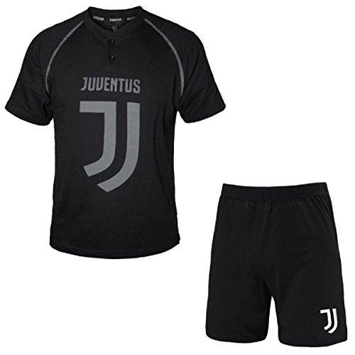 Art Uomo Nero Pigiama Prodotto Homewear Juventus Cotone 14066 Ufficiale wpW4z7xqY