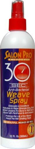 Salon Pro 30 Second Weave Spray 12 oz. (Pack of 2)