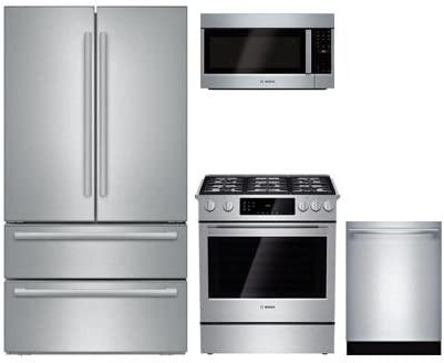 Appliances Bosch 4-Piece Stainless Steel Kitchen Package with ...