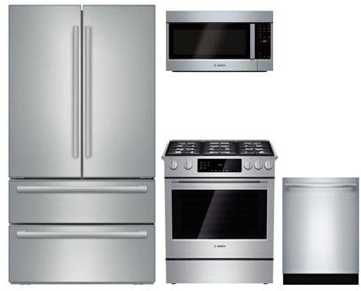 Bosch 4-Piece Kitchen Package with B21CL81SNS 36