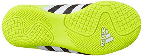 adidas Ace 15.4 In J - Botas Para Niño Negro / Blanco / Amarillo
