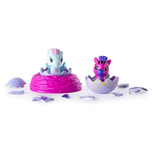 Mystic Star (Hatchimals CollEGGtibles Season 1 2-Pack + Nest)