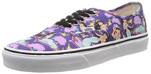 Vans U Authentic Disney - Zapatillas  para hombre Multicolore (Multicolour (disney/jasmine/deep Ultramarine))