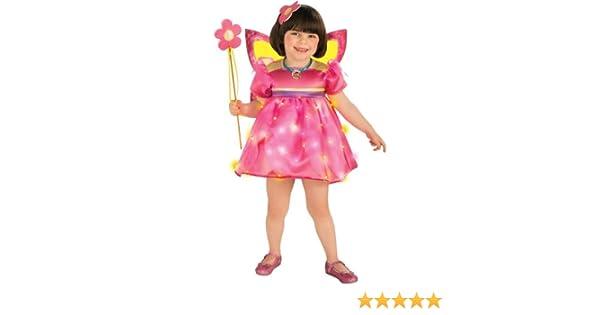 Disfraz de Dora la Exploradora hada de cristal para niña - 3-4 ...