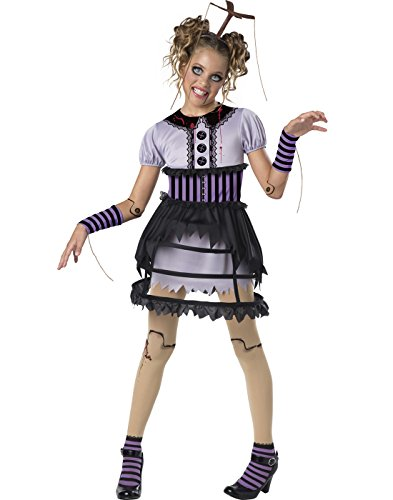 InCharacter Fractured Marionette Costume, Multicolor, Medium