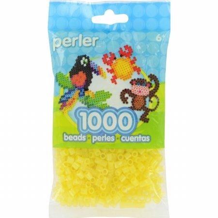 Perler PPBB05-15189 Pearl Beads44; Yellow Glitter - 1000 per Pack