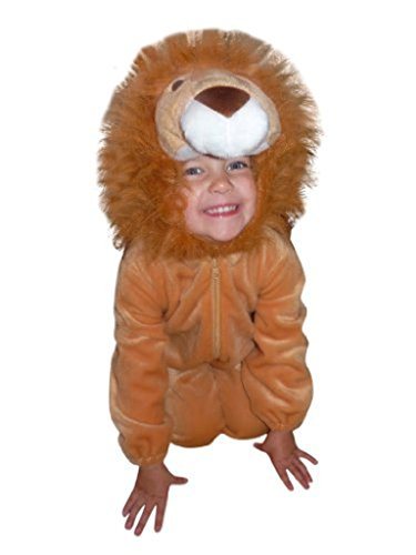[Fantasy World Boys/Girls Lion Halloween Costume, Size 6, F57] (Funny Ideas For Girl Halloween Costumes)
